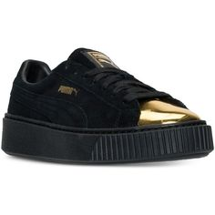 Puma Womens Platform Casual Sneakers from Finish Line ( 100) ❤ liked on  Polyvore featuring 528931e0e