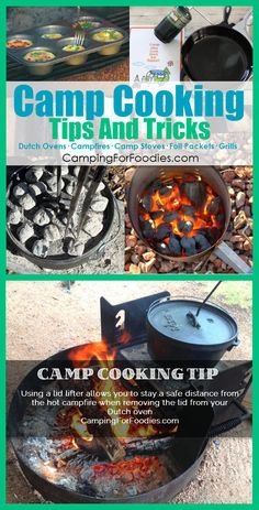 Camp Cooking Tips And Tricks. Cooking on camping trips is part of the outdoor…