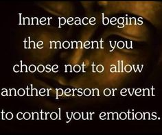 This is all well and good but we are human and cannot turn emotion off no matter who controls it. To be emotionless is to be cold and uncaring. Inhuman. Not for me. Be emotional. Being controlled by it is your choice.