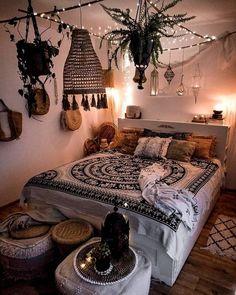 38 Beautiful Bohemian Bedroom Decor You Definitely Like - 38 Wu . - 38 Beautiful Bohemian Bedroom Decor You Definitely Like – 38 Wu … # Bohemian like pillow ideas 2020 Bohemian Bedrooms, Bohemian Bedroom Design, Boho Room, Bedroom Designs, Bohemian Decor, Modern Bohemian, Bohemian Interior, Dark Bohemian, Hippy Room
