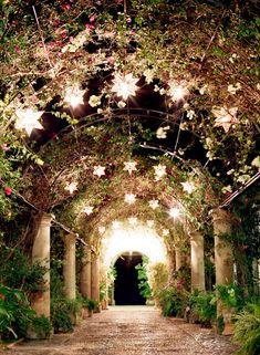 Courtyard in Hacienda las Trancas | photography by http://www.jenlynnephotography.net