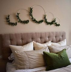 Contemporary home decor - Hoop Wreath, Asymmetrical Wreath, Metal Hoop Wreath, Boxwood Wreath, Modern Farmhouse Wreath – Contemporary home decor Home Crafts, Diy Home Decor, Diy Crafts, Boxwood Wreath, Contemporary Home Decor, Modern Decor, New Room, Bedroom Decor, Decor Room