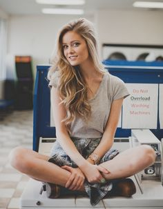 Recently, I did a photoshoot with Emma and Hannah for a youth oriented  fashion shoot. Hannah styled herself and Emma so we picked a laundromat and  a couple of outside places to shoot.