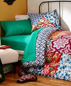 Chinoiserie 3 Piece Comforter and Duvet Cover Sets - Dorm Bedding - Bed & Bath - Macy's