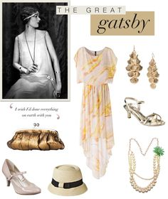 Consider this an invitation to the party - here's your Gatsby-inspired outfit