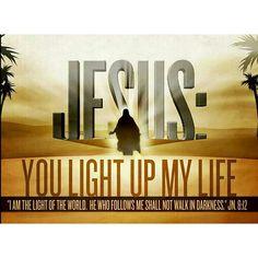 Jesus You light up my life