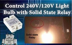 In this tutorial we will learn How to control 240V/120V light bulb with solid state relay. We will also see what is difference between contact relay and solid state relay. So let's get started. For …