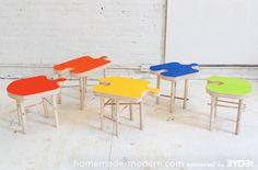 HomeMade Modern DIY EP18 Puzzle Stool Options