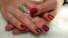 Christmas nails by @ mariestory nails