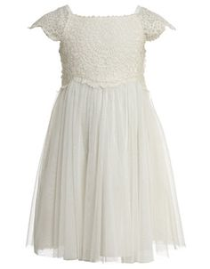 Baby Estella Crochet Dress | Ivory | Monsoon