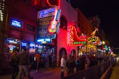 The 12 best things to do in Nashville including Bluebird Cafe, Honky Tonks, RCA Studio B, Ryman Auditorium, and eating the local food.