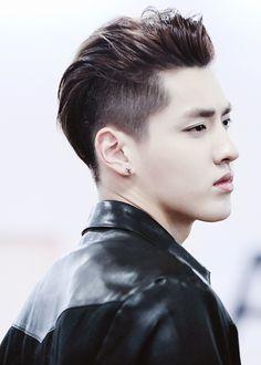 """Exo - Kris """"His milky skin ^3^"""""""