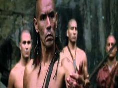 L ultimo dei Mohicani Inseguimento Uroni e uccisione Magua - YouTube