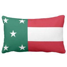 Republic Flag Of #Yucatan ( #Mexico ) Throw Pillows