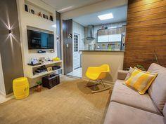 01-sala-decorada-pequena Decor, Room, House, Sala, Interior, Living Room Decor, Apartment, Home Decor, Interior Design
