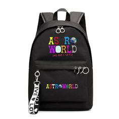 Travis Scott Astroworld Printed Students School Backpack – SGoodGoods Travis Scott Merch, Trendy Outfits, Cool Outfits, Travis Scott Astroworld, Shirt Hoodies, School Backpacks, Dubai, Students, Sweatpants