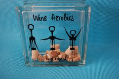Wine Cork Holder / Cork  Keeper / Glass by HuggerOrangeDesigns, $25.00