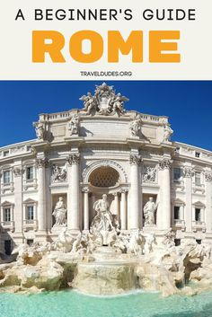 Rome is a fantastic city and is probably on everyone's itinerary who visit Italy or Europe for the first time. Here is our first-hand experience guide. Rome Travel, Europe Travel Tips, Italy Travel, Travel Guides, Travel Destinations, Italy Vacation, Travel With Kids, Family Travel, Rome Guide