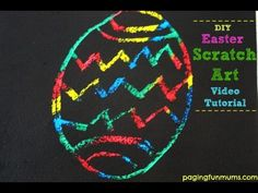 Includes easy video tutorial - you can actually make this easily in your own home! Fun Arts And Crafts, Diy Crafts For Kids, Fun Crafts, Gifts For Kids, Indoor Activities For Kids, Easter Activities, Free Activities, Holiday Activities, Preschool Ideas