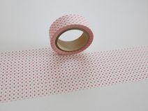 Washi Masking Tape rosa Micordots Mini Punkte
