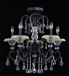 395013_Semi Flush Ceiling Lights_Zhongshan Sunwe Lighting Co.,Ltd. We specialize in making swarovski crystal chandeliers, swarovski crystal chandelier,swarovski crystal lighting, swarovski crystal lights,swarovski crystal lamps, swarovski lighting, swarovski chandeliers.
