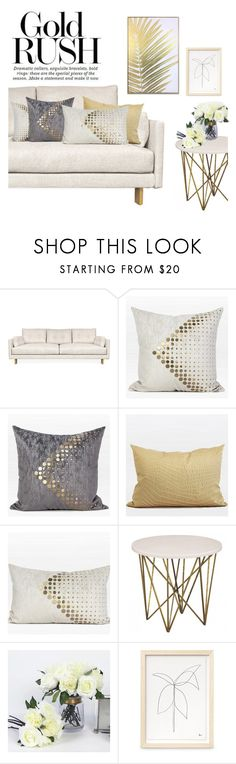 """Home Sweet Home"" by ghomecollection on Polyvore featuring interior, interiors, interior design, home, home decor, interior decorating, Jonathan Adler and Wynwood"