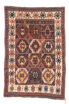 Kazak Rug, Southwest Caucasus, third quarter 19th century,  6 ft. 6 in. x 4 ft. 4 in.    | Skinner Auctioneers Sale 2347