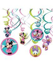 Minnie Mouse Swirl Decorations-Party City