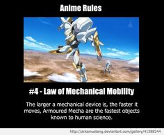 Anime Rule #4 by ArkaMustang.deviantart.com on @deviantART
