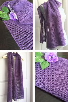 Ravelry: Shine shawl with DK weight Berroco Yarn - knitting pattern by Janina Kallio.