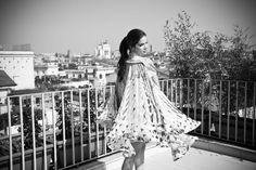 Ilaria Spada for Maxim - Styling made at Zita Fabiani by Gabriele Corbyons - Picture by Erica Fava -  Dress: Mary Katrantzou