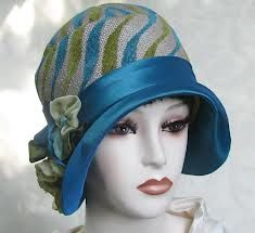 Art Deco Cloche Hat. @designerwallace