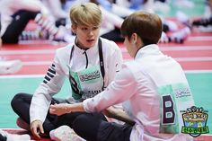 """[Picture] BTS at 2016 """"Idol Star Athletics Championships"""" Chuseok Special part 6 [160829]"""