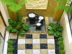 Mengagumkan Penyediaan Taman Minimalis & Tip Ringkas Patio Design, Garden Design, House Design, Indoor Garden, Outdoor Gardens, Courtyard Gardens, Dry Garden, Mini Gardens, Green Garden