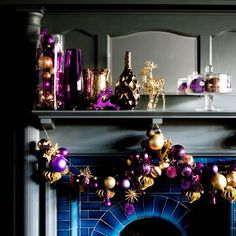 Christmas bauble garland. For more like this, click the picture or visit RedOnline.co.uk