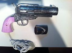 Pink Pistol Hair Dryer. I sooooooo need this!!!!