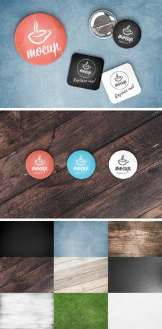 Introduction Of Button Badge MockUp Show your work in an original way with this freebie! This is a fully customizable badges and coasters mockups set. Free Photoshop, Photoshop Design, Advanced Photoshop, Scene Creator, The Creator, Free Badges, Graphic Design Brochure, Free Buttons, Mockup Generator