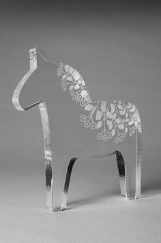 Photo via: Uploaded by user You may also be interested in 🙂Dala horse ceramic mugs from swedish designer mia blancheShow off your stitching on this [. Swedish Girls, Swedish Style, Swedish Design, Swedish Decor, Horse Rugs, Laser Cutter Projects, Laser Art, Scandinavian Folk Art, Fused Glass