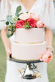 Gold + Pink Wedding Inspiration - Style Me Pretty