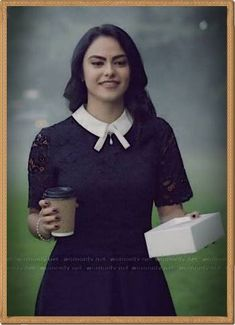 Veronica Lodge wearing the 'Dixxy' Lace Dress by Ted Baker - Riverdale Veronica Lodge Outfits, Veronica Lodge Fashion, Veronica Lodge Style, Veronica Lodge Aesthetic, Veronica Lodge Riverdale, Camila Mendes Riverdale, Riverdale Fashion, Donna Ricco, Inspired Outfits