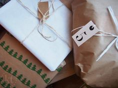 Christmas presents / wrapping