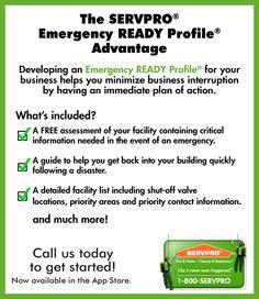 SERVPRO Emergency READY Plan.