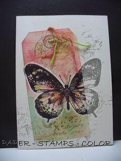 Pan Pastel BNL: Ach, wat maken vlinders me toch altijd blij...