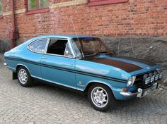 Opel Kadett Rallye coupe photos - one of the models of cars manufactured by Opel Buick, Caravan, British Sports Cars, Cabriolet, Limousine, Small Cars, Rally Car, Sport Cars, Motor Car
