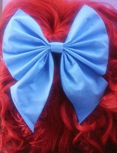 Hey, I found this really awesome Etsy listing at https://www.etsy.com/listing/197393646/ariel-hair-bow-kiss-the-girl-hair-bow