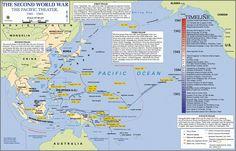 1941 a 1945 Segunda Guerra Mundial – El Teatro de Operaciones del Pacífico