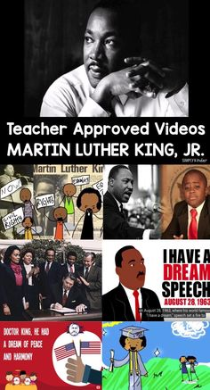 Teacher Approved Dr. Martin Luther King Videos - these videos are perfect for showing your kindergarten and first grade students.