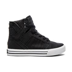 Supra Skytop Satin Sneaker Shoes (470 BRL) ❤ liked on Polyvore featuring shoes, sneakers, supra footwear, laced up shoes, supra shoes, lacing sneakers and lace up shoes