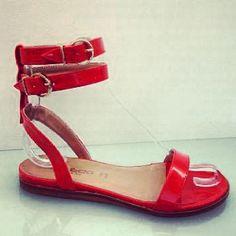Orange sandal!