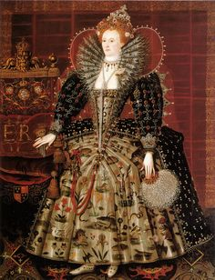 "Nicholas Hilliard ""Elizabeth I"" 1599-1600 by Art & Vintage, via Flickr"